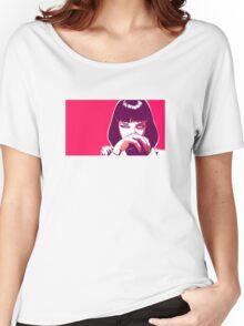 Pulp Fiction Pop Art Women's Relaxed Fit T-Shirt