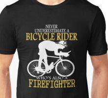 Bicycle Who's Also A Firefighter Unisex T-Shirt