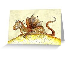 Dragon hoard Greeting Card