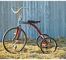 Lovely Little Tricycle.... Photographic Print