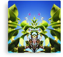 Tropical Kaleidoscapes 5 Canvas Print