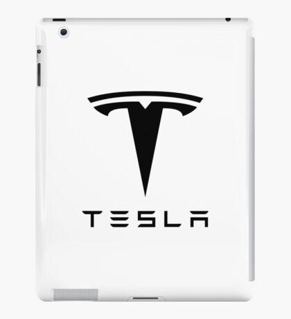 Tesla Logo Gifts and Merchandise iPad Case/Skin
