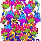 Indie Mushrooms by Octavio Velazquez