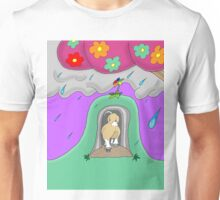 Bjorn Enters the Rain Cave Unisex T-Shirt