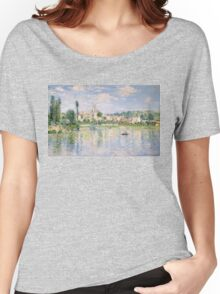 Vetheuil in Summer 1880 by Claude Monet Women's Relaxed Fit T-Shirt