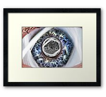 Another Dimension. Framed Print