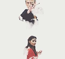 Capaldi and Coleman by wearetimelords