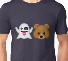 Ghost Bear 53 Emoji Unisex T-Shirt