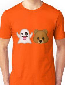 Ghost Bear 53 Emoji Unisex T-Shirt