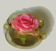 Floating rose   by OlaG