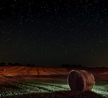 Fields at Night. by eXparte-se