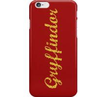 One word - Gryffindor iPhone Case/Skin