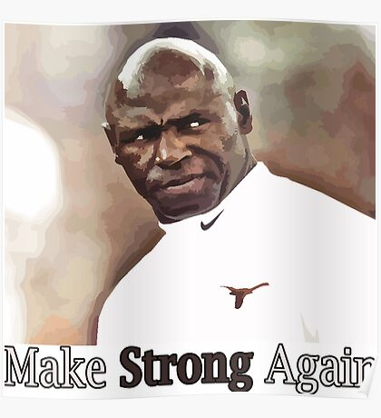 Charlie Strong Poster