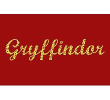 One word - Gryffindor Photographic Print