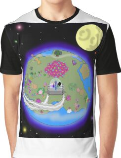 Back to the Rainbow Flower Tree Graphic T-Shirt
