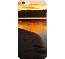 Sunset at the Great  Lakes iPhone Case/Skin