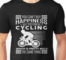 Bicycle You Can't Buy Happiness Unisex T-Shirt