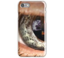 Watching the World Burn. iPhone Case/Skin