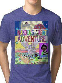 Mahogany Cover Tri-blend T-Shirt