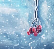 Winter Berries Sticker