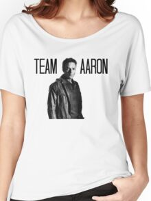 Team Aaron- The Walking Dead Women's Relaxed Fit T-Shirt