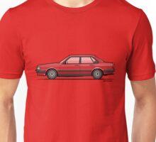 Four-Ring 80 B2 Quattro Tornado Red 4-Door Sedan  Unisex T-Shirt