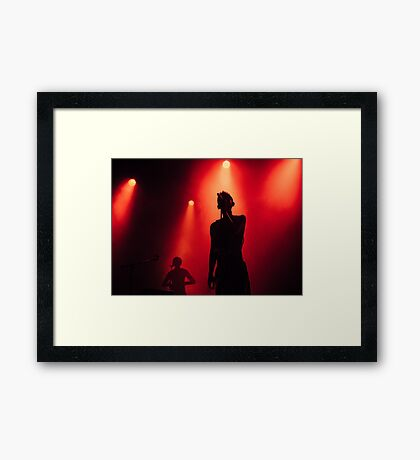 Years & Years Framed Print