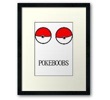 Pokeboobs Framed Print