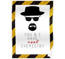 BREAKING BAD HEISENBERG Real Chemistry Poster