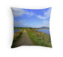 The Path Of Peace.........................................Ireland Throw Pillow