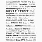 Font by silentstead