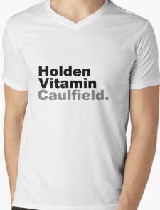 Holden Vitamin Caulfield Mens V-Neck T-Shirt