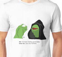 Evil Kermit: Anxiety Starter Unisex T-Shirt
