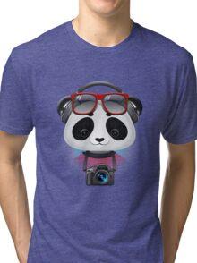 Panda Boy Tri-blend T-Shirt
