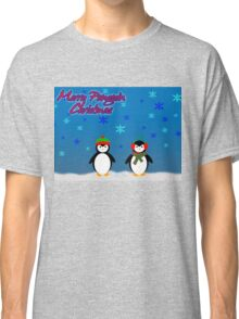 Merry Penguin Christmas! Classic T-Shirt