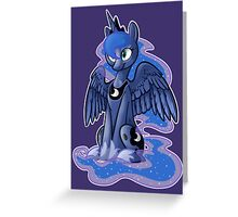 Princess Luna Greeting Card