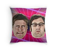 Tim and Eric Awesome Show Throw Pillow