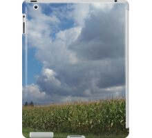 Crops and Clouds iPad Case/Skin