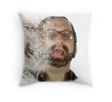Tim and Eric Clown outlet Throw Pillow