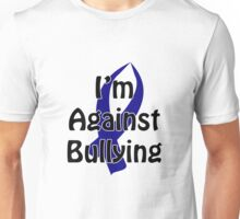 Anti-Bullying Blue Ribbon Unisex T-Shirt