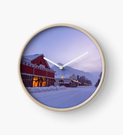 Crested Butte - Elk Avenue Morning Clock