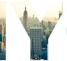 NYC for NEW YORK CITY - Typo by T J B