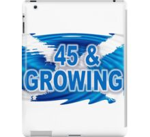 45 & GROWING FREE SCOTLAND iPad Case/Skin