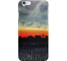 Crescent moon and Jupiter iPhone Case/Skin