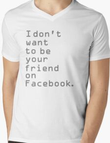 Ignore  Mens V-Neck T-Shirt
