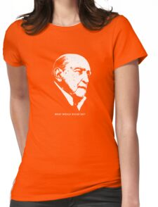 What would Oscar do? Architecture T shirt Womens Fitted T-Shirt