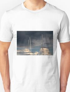 sailing in the cloudy sky T-Shirt