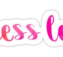stress less pink~~~~ Sticker