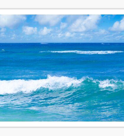 Beautiful Pacific Ocean's landscape  Sticker