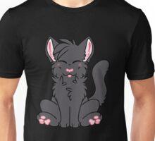 Cute Chibi Black Cat Unisex T-Shirt